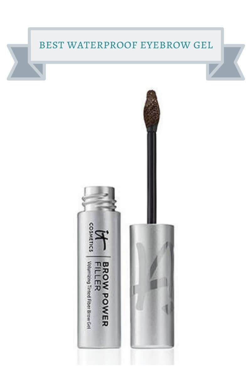 silver bottle of wunderbrow brow filler