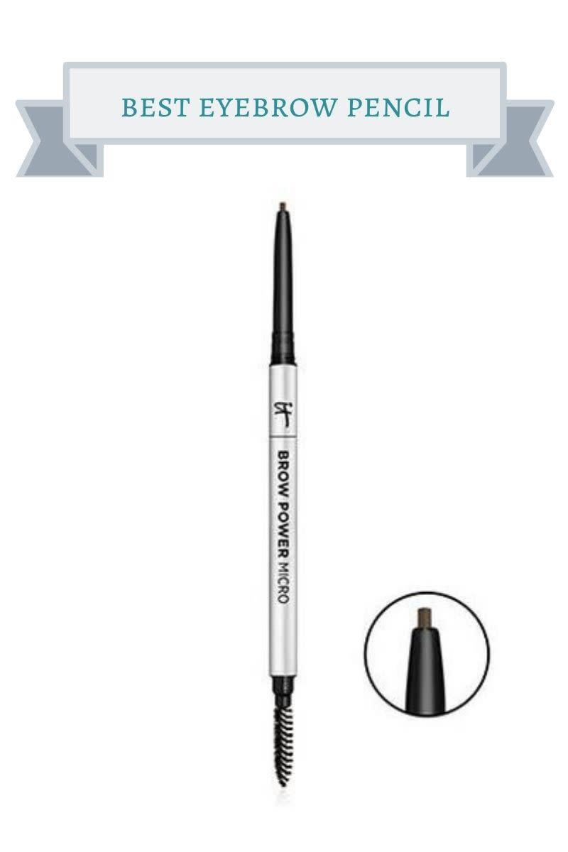 silver It cosmetics eyebrow pencil