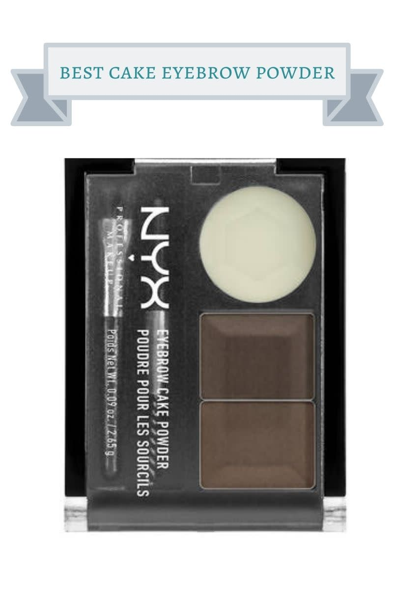 brow palette of nyc cake brow powder