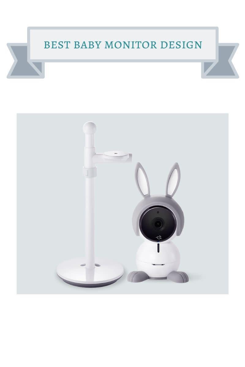white rabbit shaped baby monitor