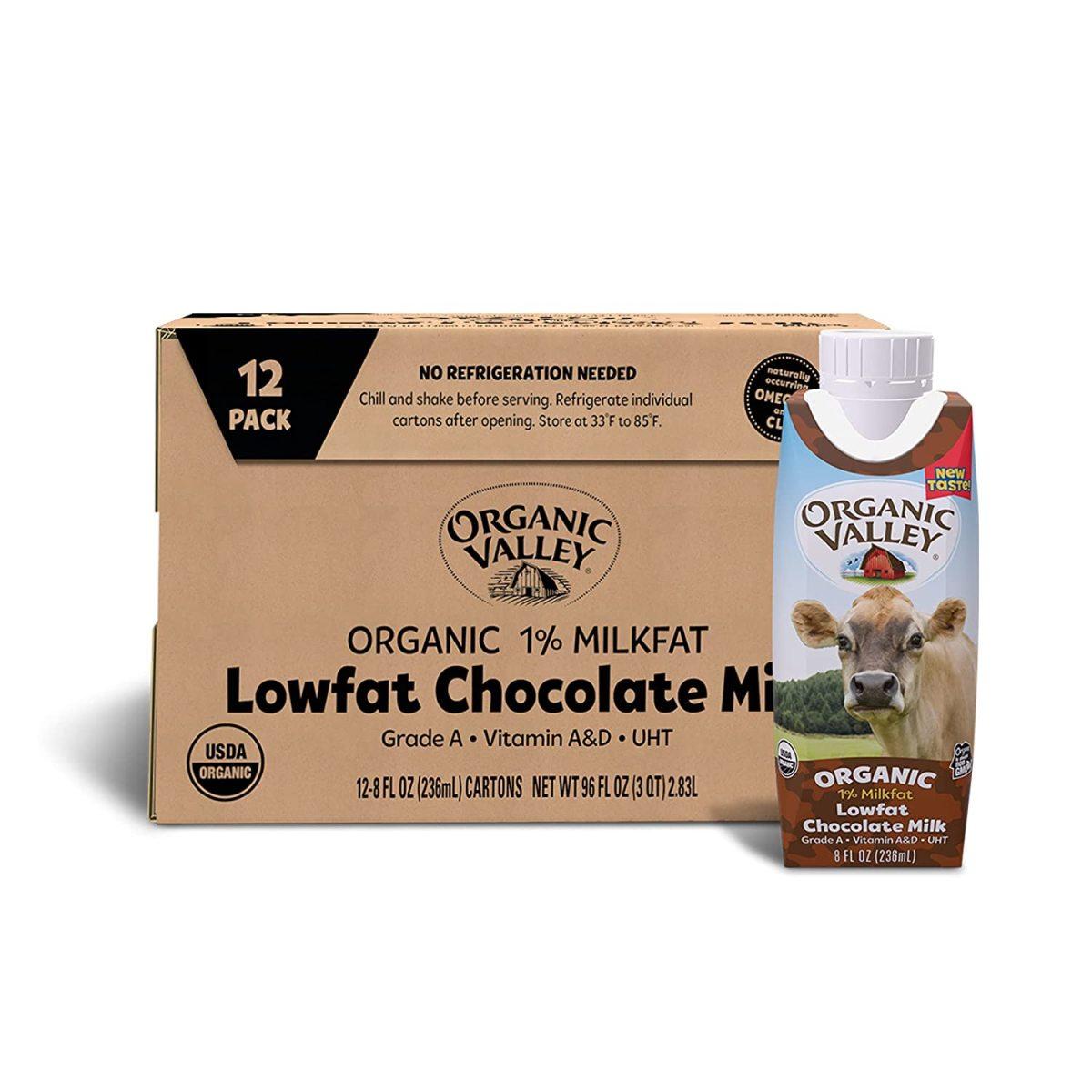 Shelf Stable Organic Valley Milk