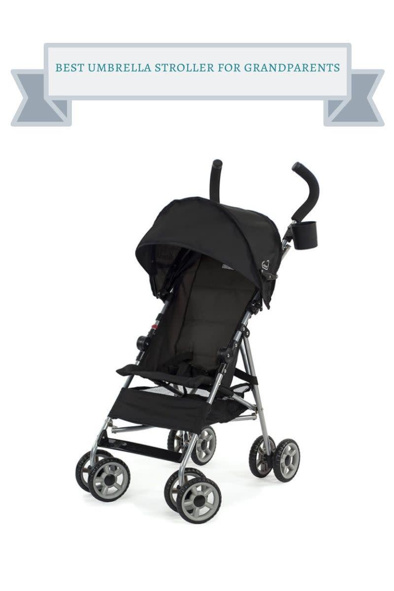 black kolcraft umbrella stroller
