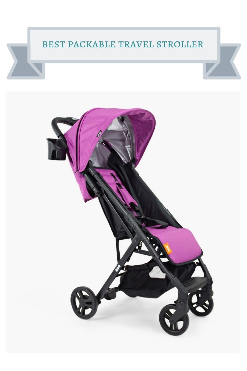 purple zoe the traveler stroller