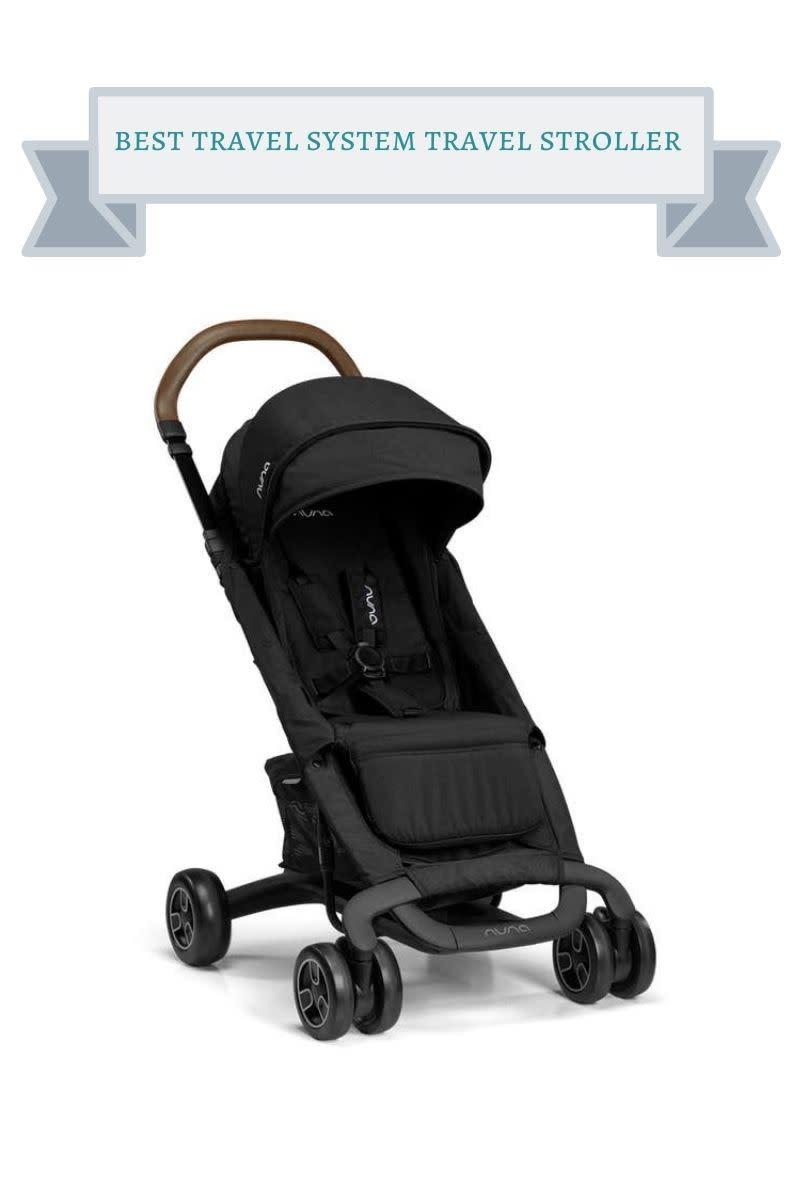 black nuna pepp next stroller