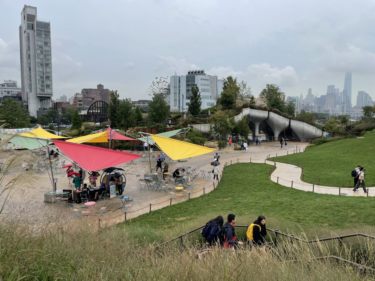 Cool Public Spaces in New York City Little Island Park