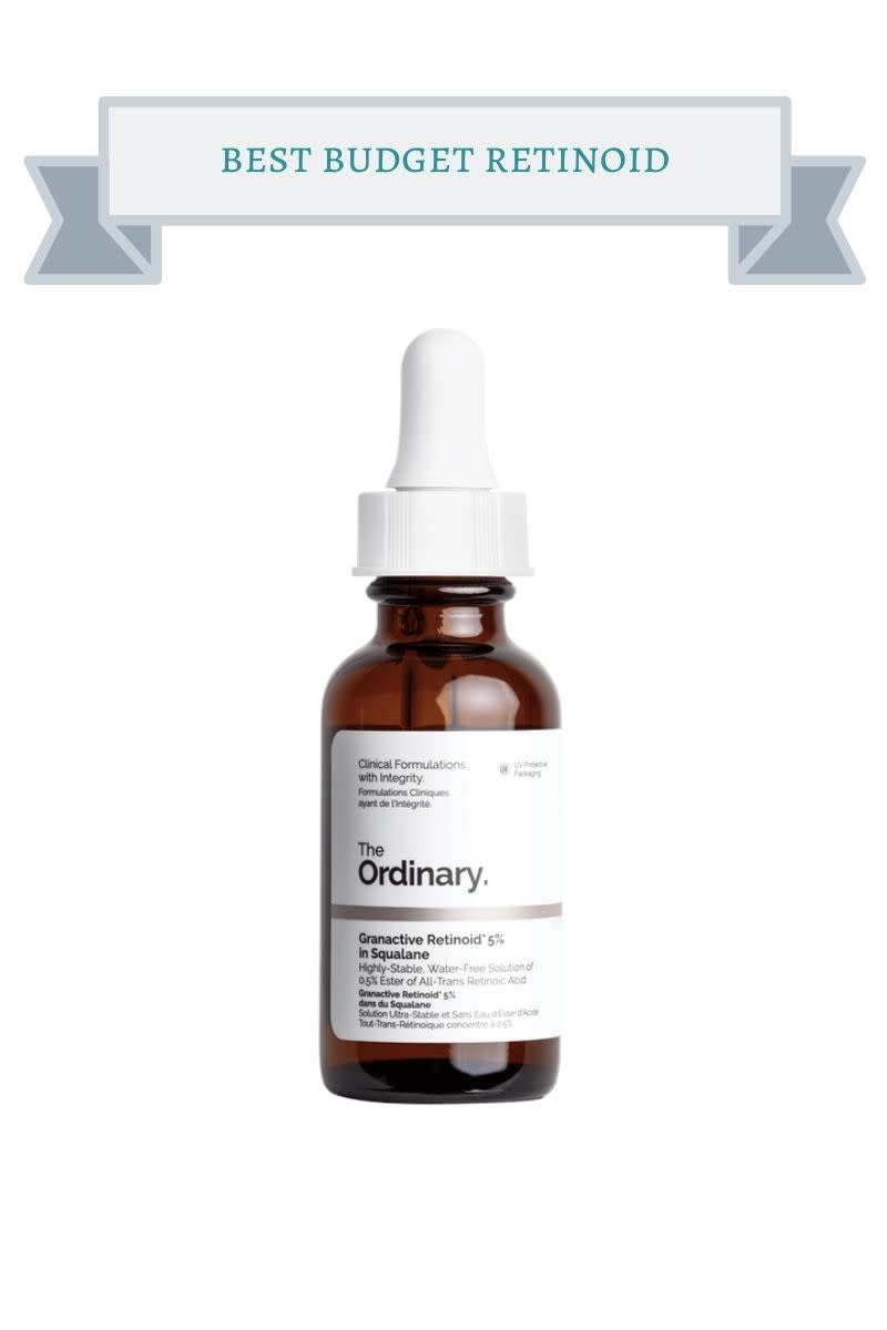 brown bottle of the ordinary retinoid